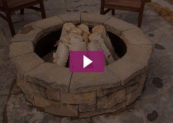 Video: Do it Yourself Fire Pit Kit