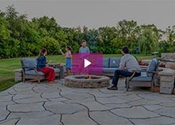 Video: Grand Flagstone Installation