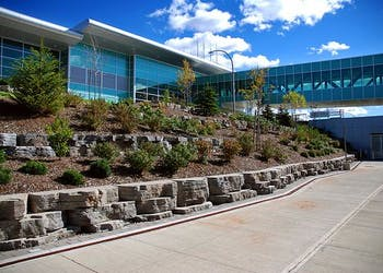 Story: Airport Retaining Walls Inspired By Wings