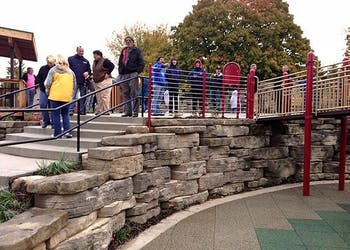 Story: Outcropping Used For Playground