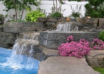 Story: Outcropping Changes Dirt Yard to Pool Oasis